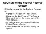 structure of the federal reserve system1