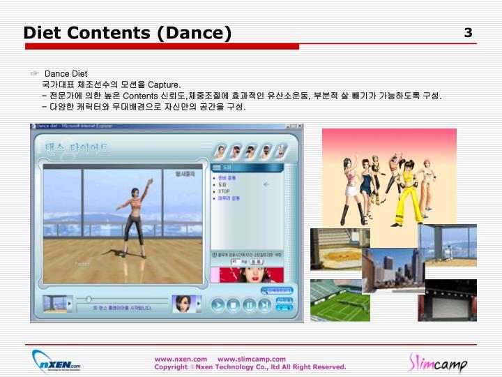 Diet Contents (Dance)