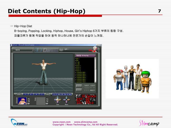 Diet Contents (Hip-Hop)
