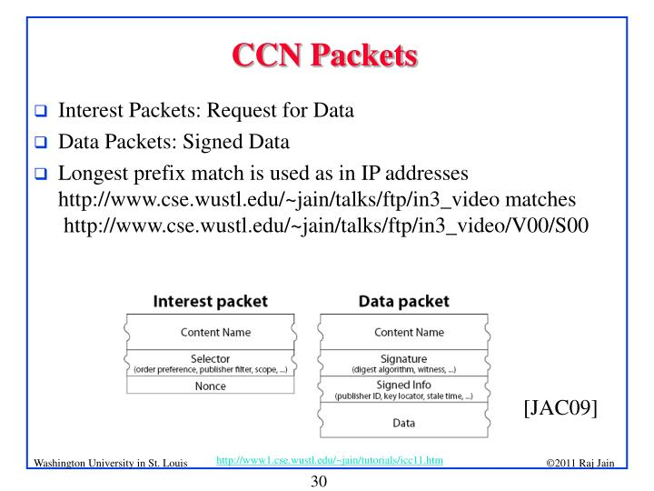 CCN Packets