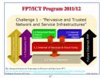fp7 ict program 2011 12