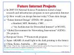 future internet projects
