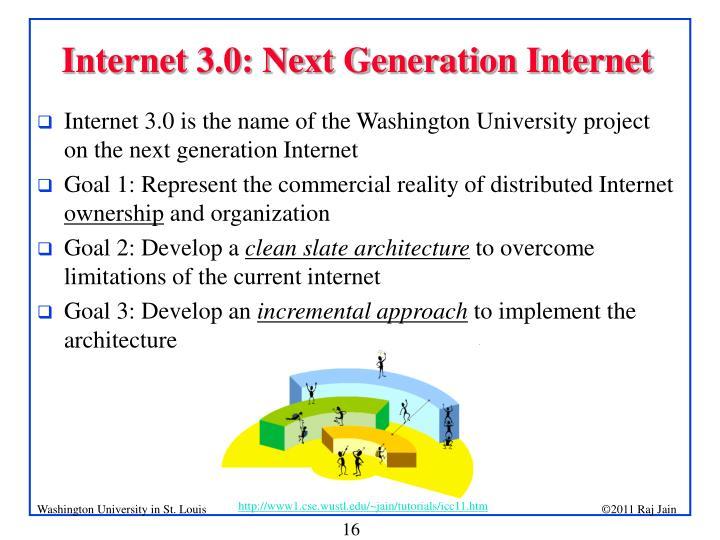 Internet 3.0: Next Generation Internet