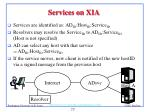 services on xia