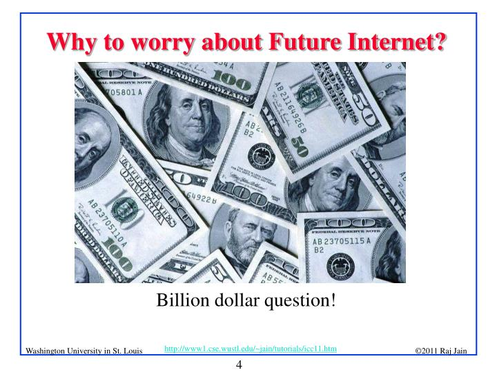 Why to worry about Future Internet?