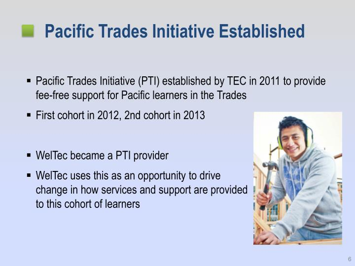 Pacific Trades Initiative Established
