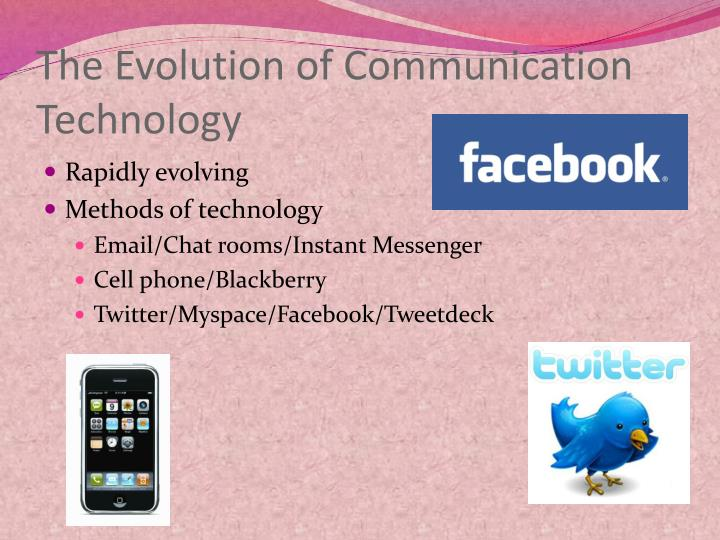 The Evolution of Communication Technology