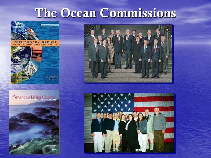 The Ocean Commissions