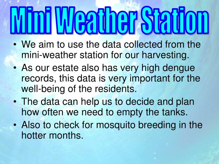 Mini Weather Station