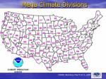 mega climate divisions