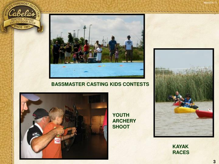 BASSMASTER CASTING KIDS CONTESTS