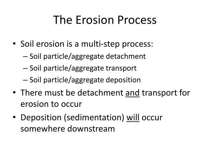 The Erosion Process
