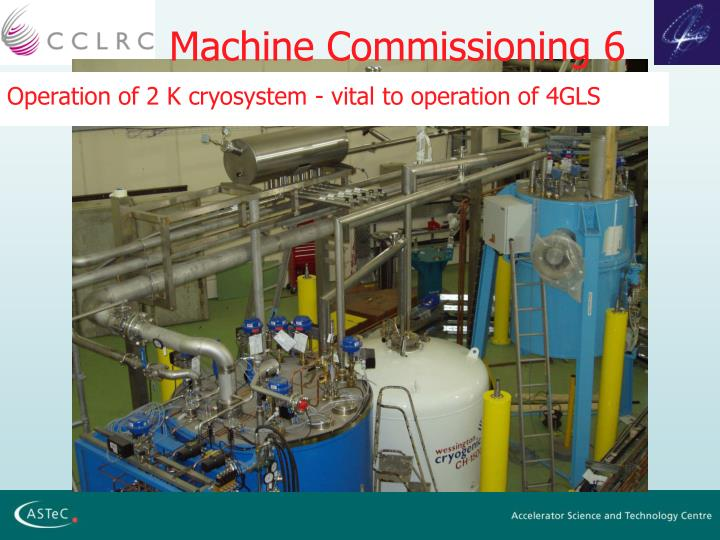 Machine Commissioning 6
