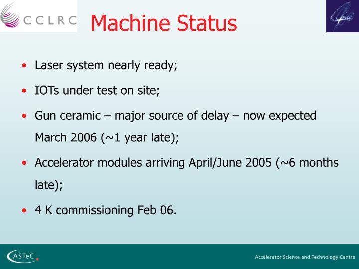 Machine Status