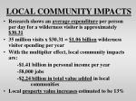 local community impacts