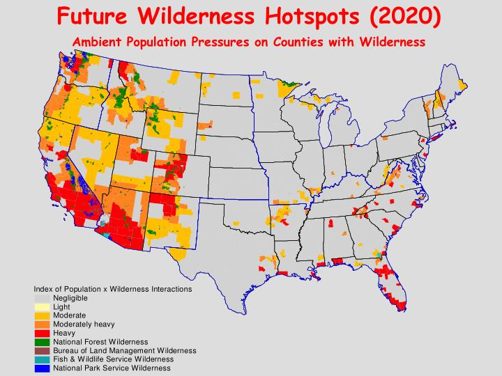 Future Wilderness Hotspots (2020)
