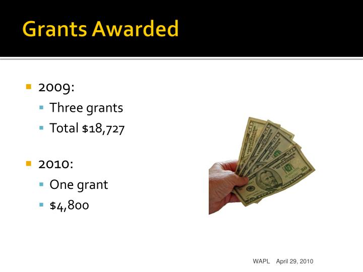 Grants Awarded