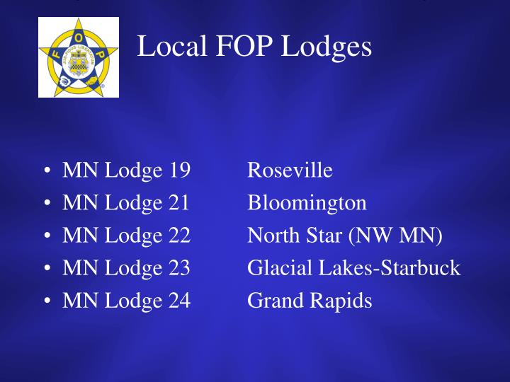 Local FOP Lodges