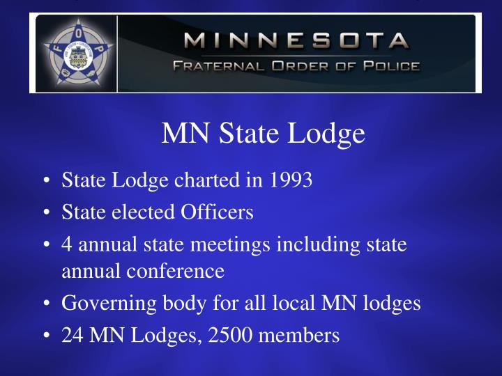MN State Lodge