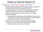 history of internet growth 2