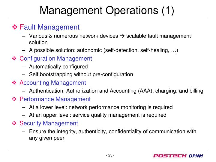 Management Operations (1)