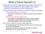 what is future internet 1