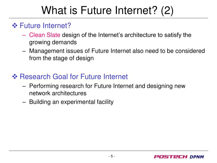 What is Future Internet? (2)