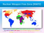 nuclear weapon free zone nwfz