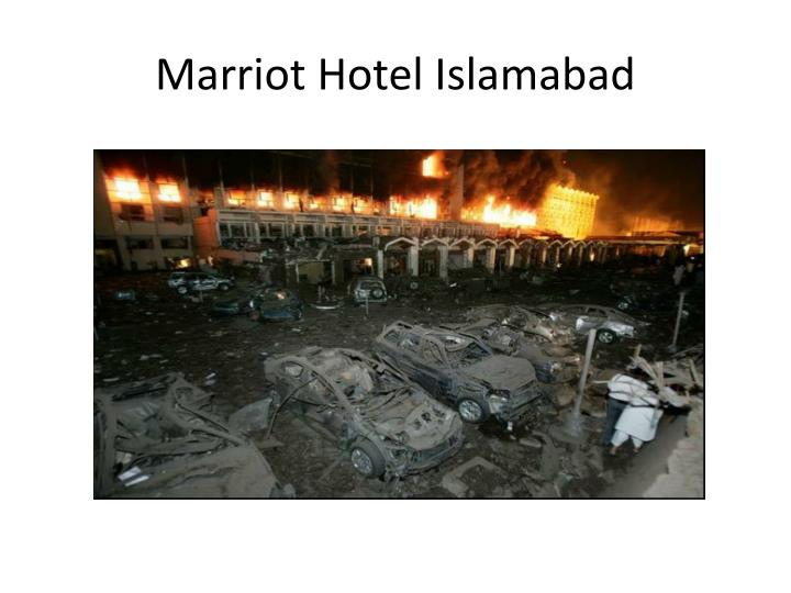 Marriot Hotel Islamabad