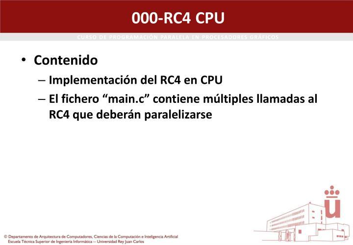 000-RC4 CPU