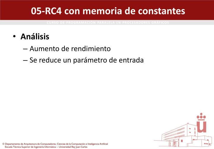 05-RC4 con memoria de constantes