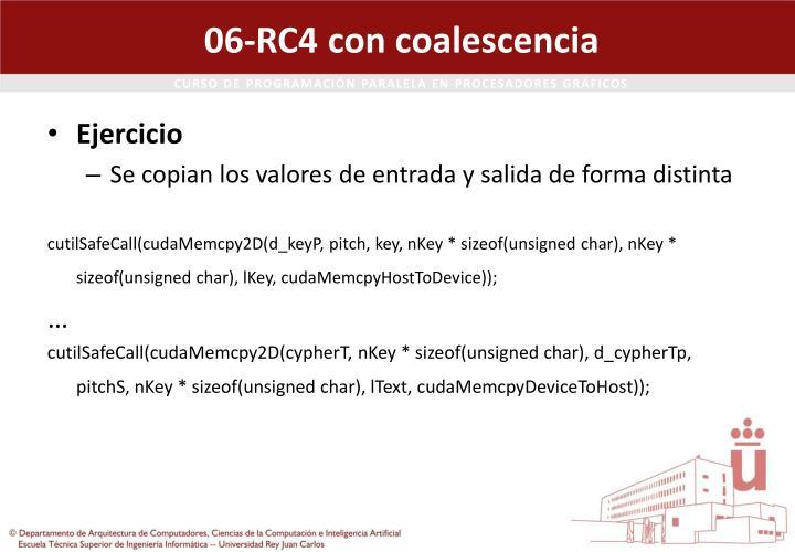 06-RC4 con coalescencia