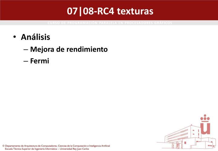 07|08-RC4 texturas