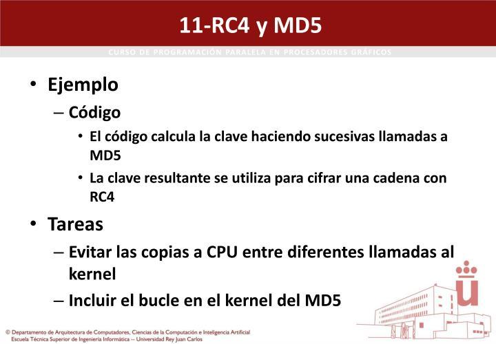 11-RC4 y MD5