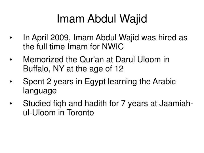 Imam Abdul Wajid