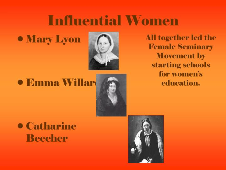Influential Women