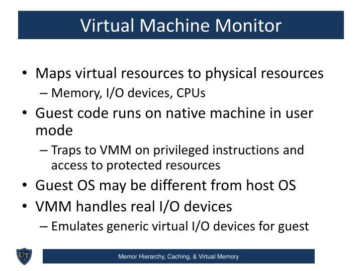 Virtual Machine Monitor