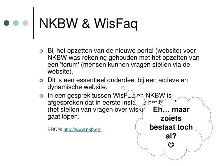 NKBW & WisFaq