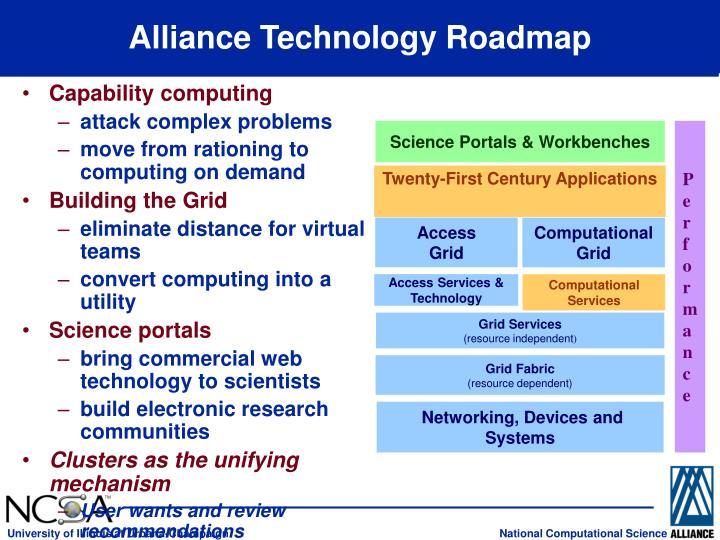 Alliance Technology Roadmap
