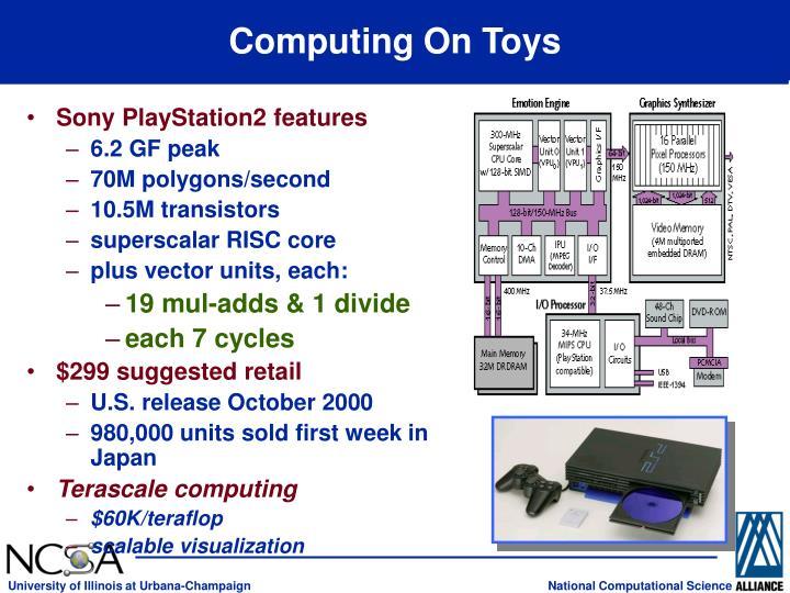 Computing On Toys