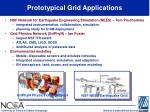 prototypical grid applications