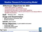weather research forecasting model