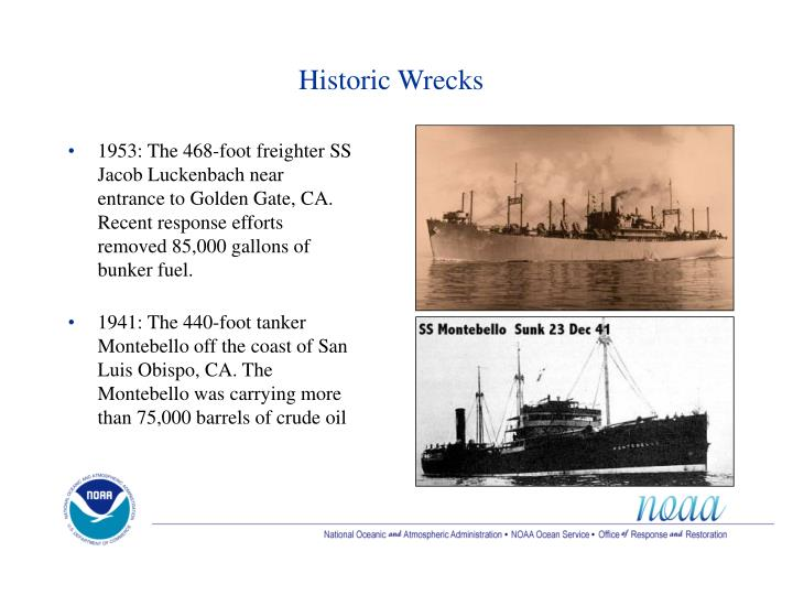 Historic Wrecks