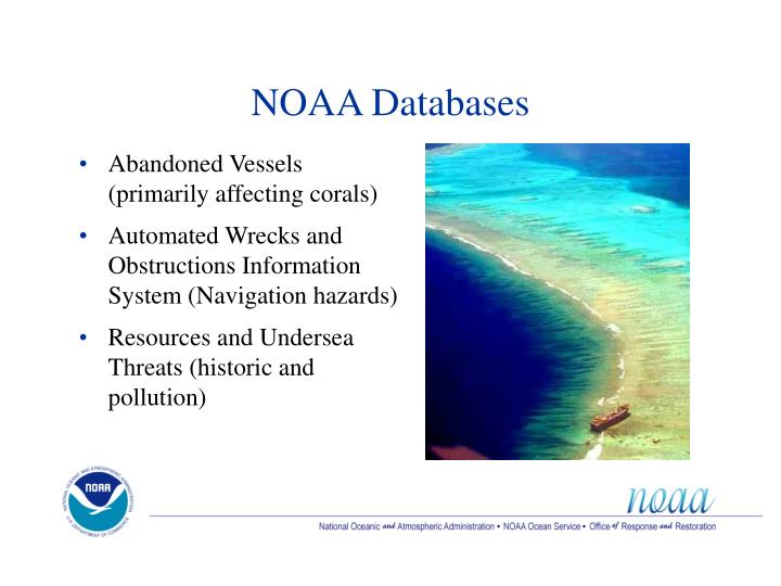 NOAA Databases
