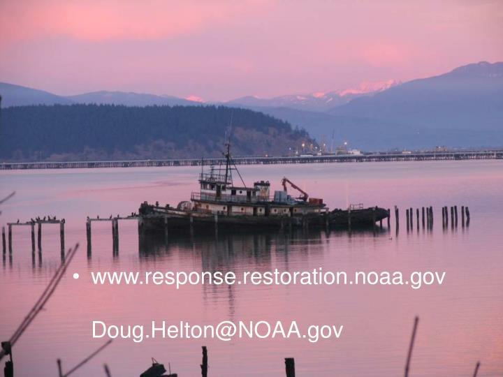 www.response.restoration.noaa.gov