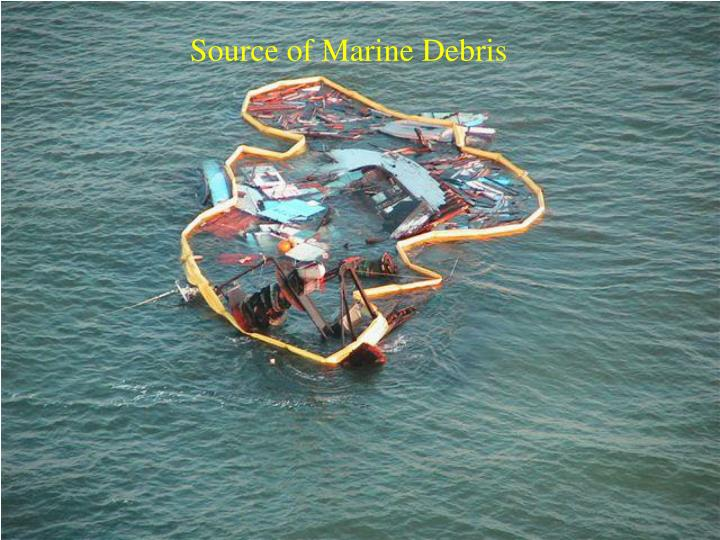 Source of Marine Debris
