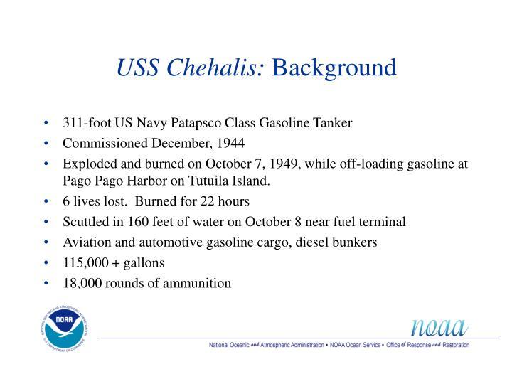 USS Chehalis: