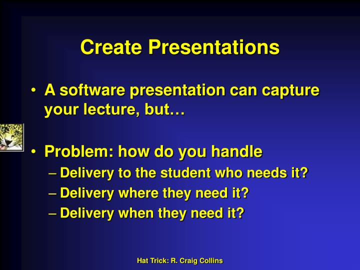 Create Presentations