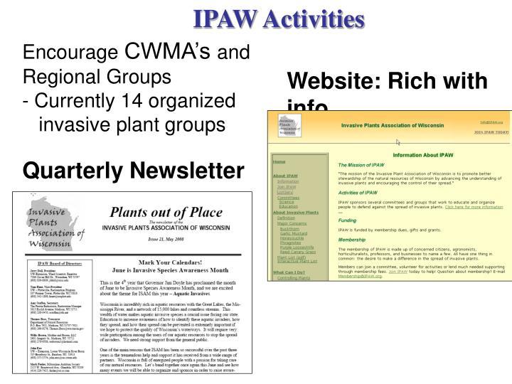 IPAW Activities