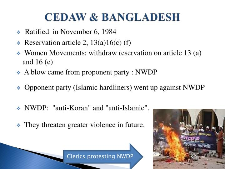CEDAW & BANGLADESH